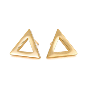 Náušnice Triangle Gold